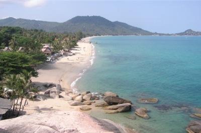 Lamai beach 1