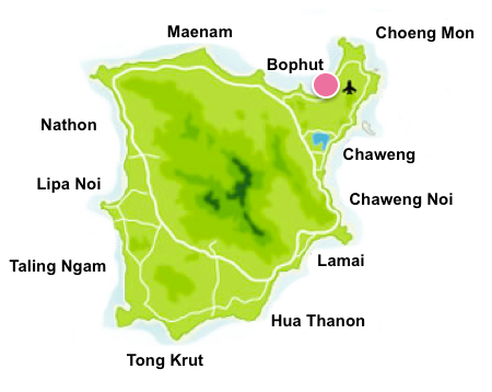 Bang Rak map