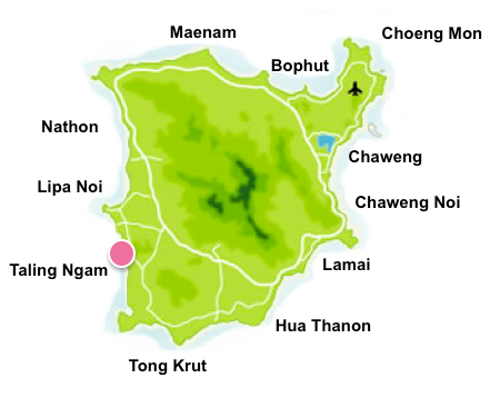 Taling Ngam map
