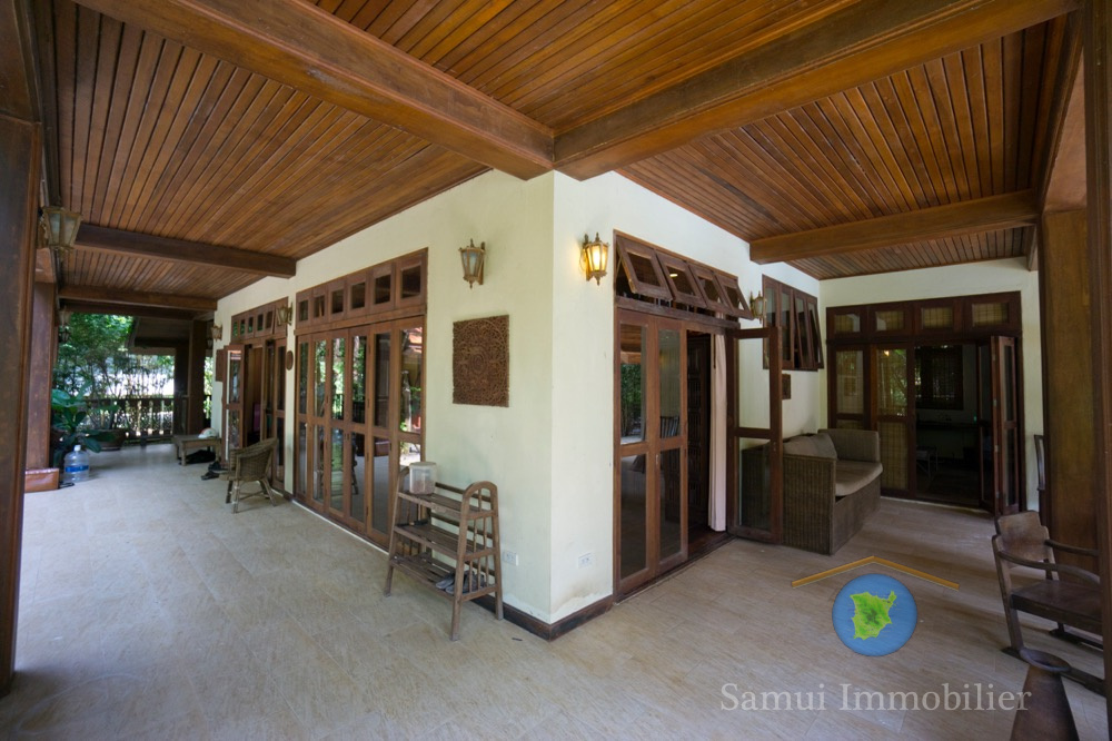 villa vendre 4 chambres cocoteraie bang kao koh. Black Bedroom Furniture Sets. Home Design Ideas