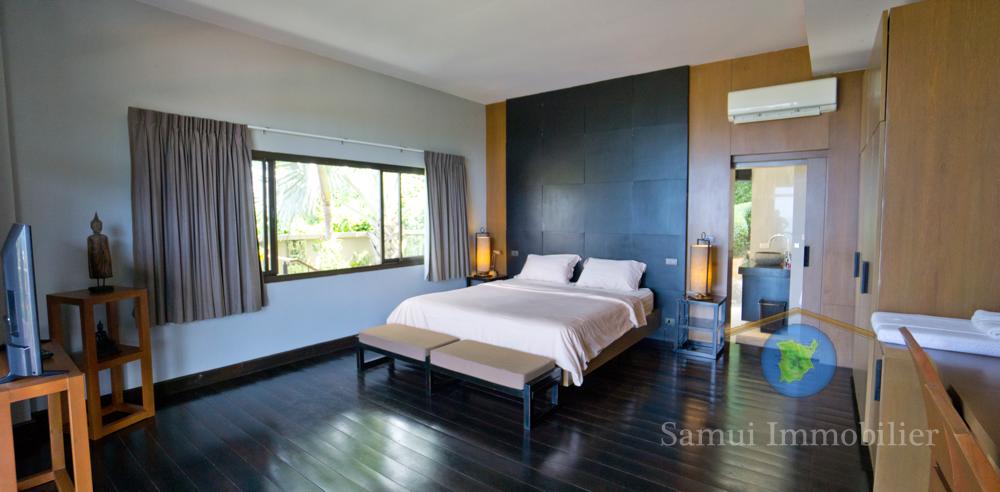 Villa vue sur mer vendre koh samui lamai thailande for Salle de bain avec wc separe