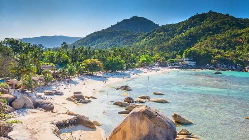 History of Koh Samui in Thailand