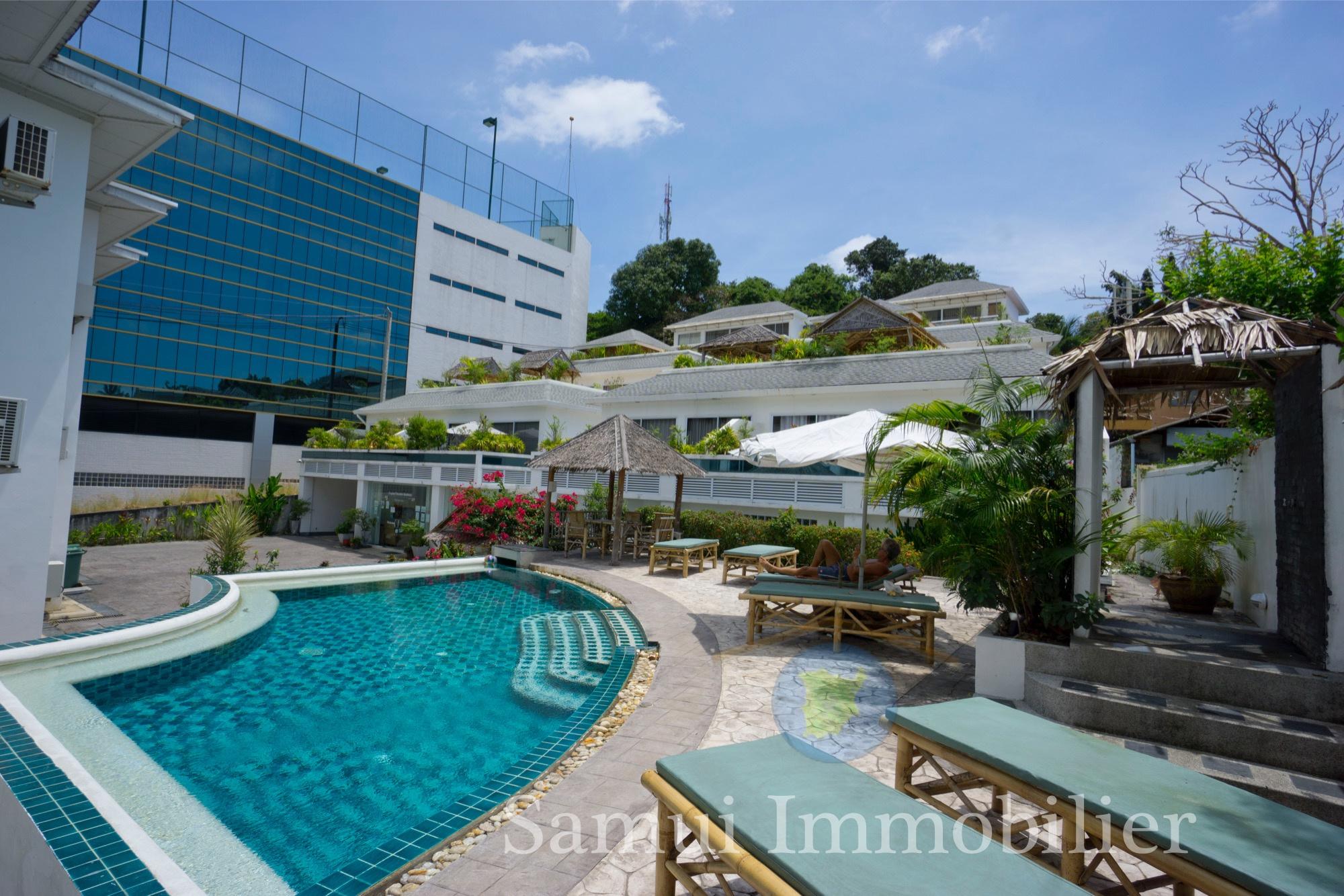 Unité De 3 Appartements À Vendre 2 Chambres + 2 Studios Lamai Koh Samui2