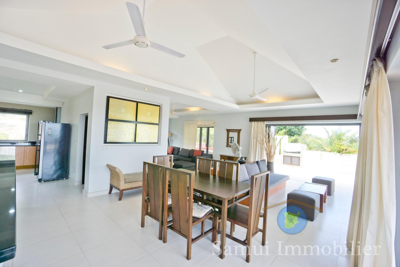 Villa à vendre - 3 chambres - vue sur mer - Plai Laem