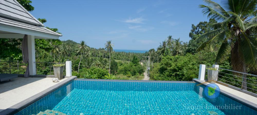 Villa à vendre - 5 chambres - vue sur mer - Taling Ngam