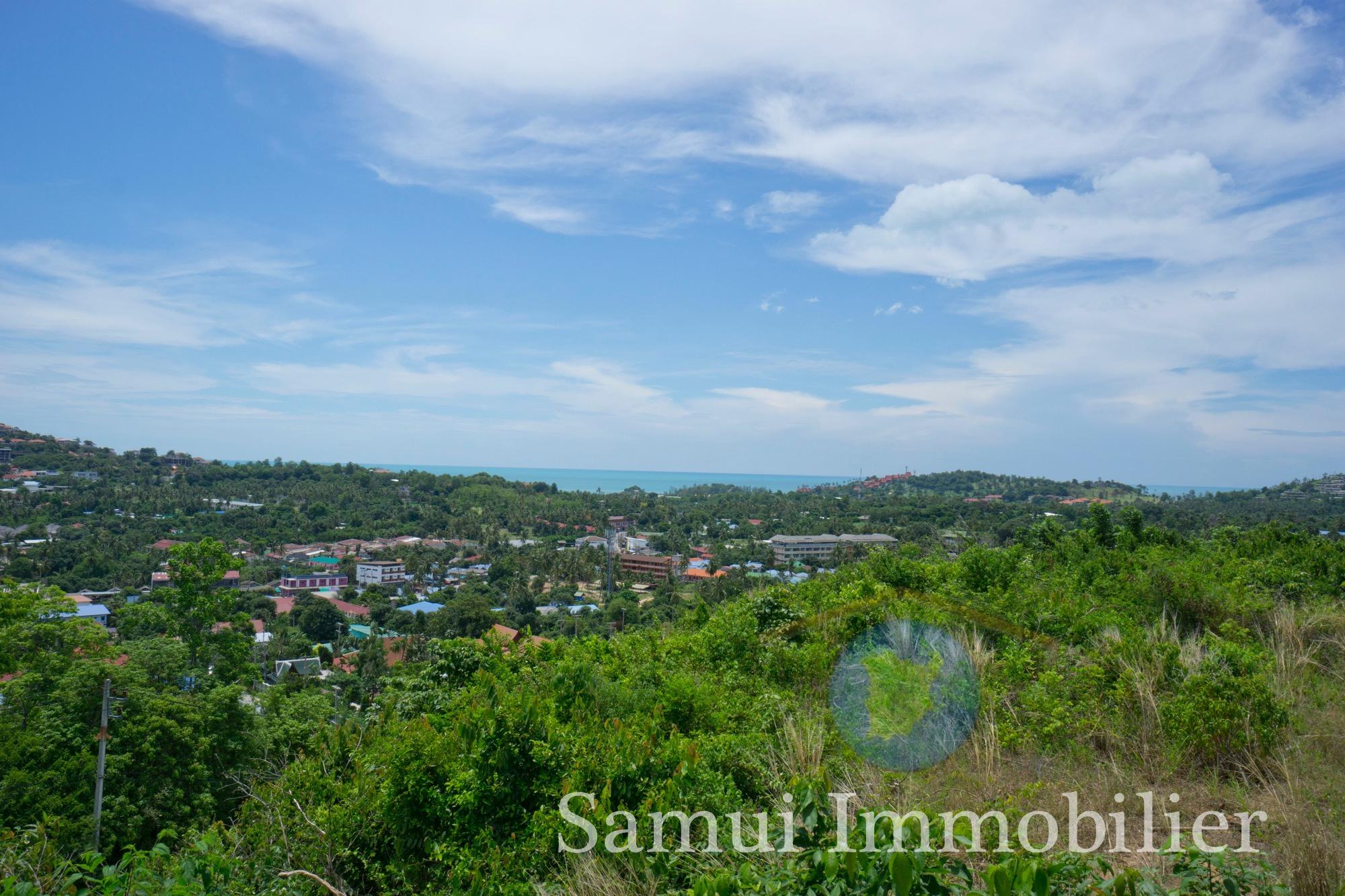 Land for sale - sea view - Plai Laem