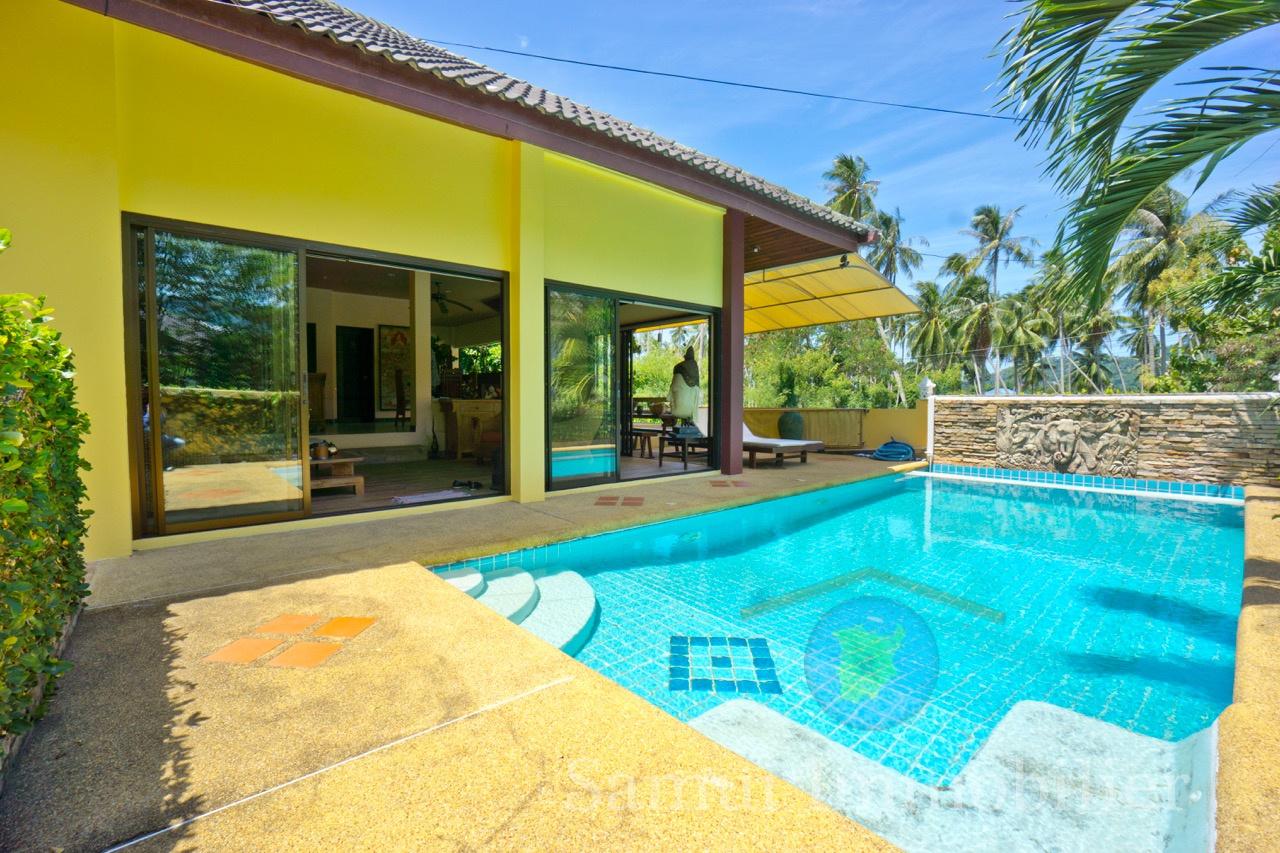 Villa For Sale 3 Bedrooms Lamai Samui Immobilier