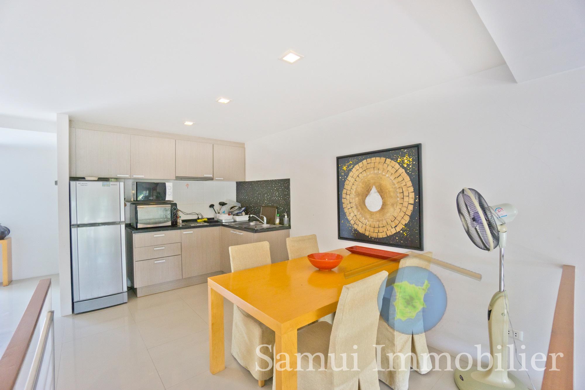 Appartement duplex à vendre - 2 chambres - Plai Laem