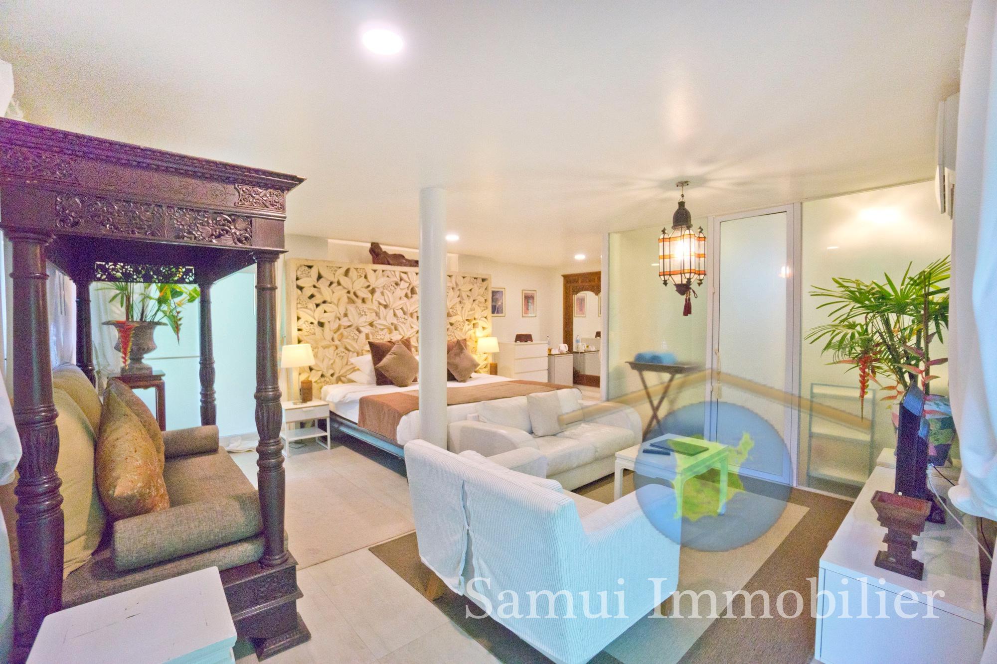 3 villas and restaurant for sale - 6 bedrooms - Bophut