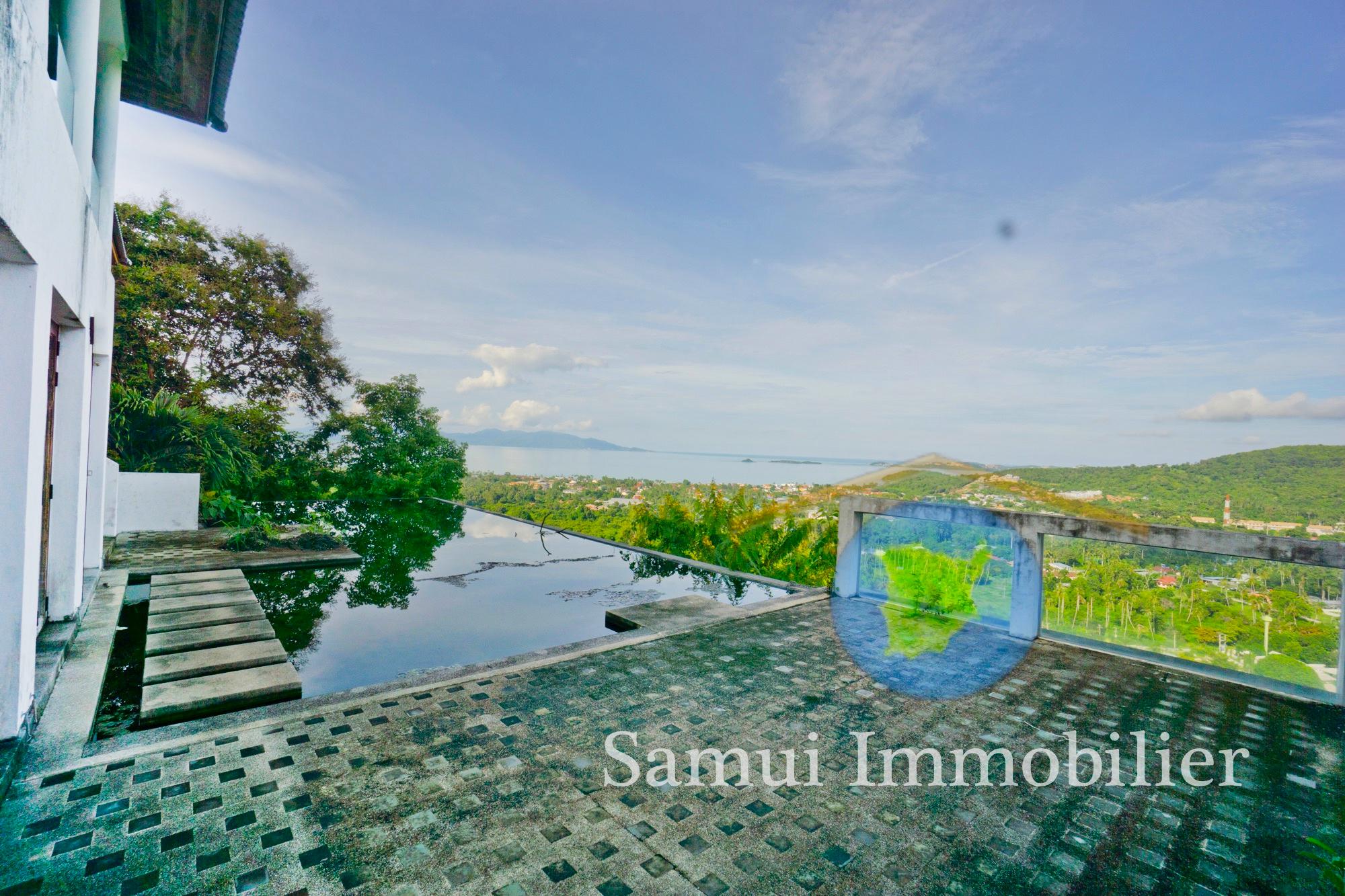 Villa for sale - 4 bedrooms - sea view - Bophut