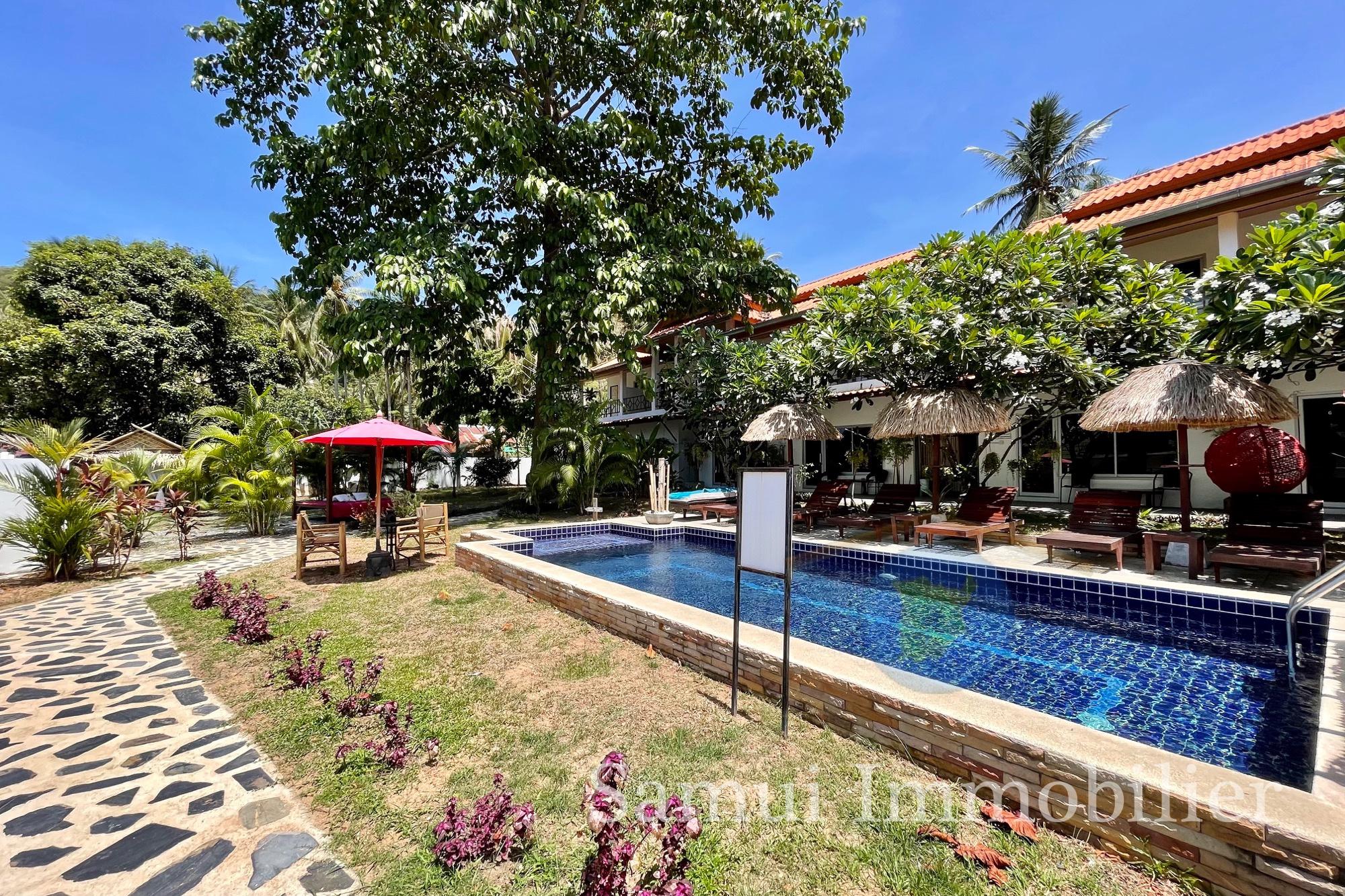 Hôtel à vendre - 16 chambres - Lamai