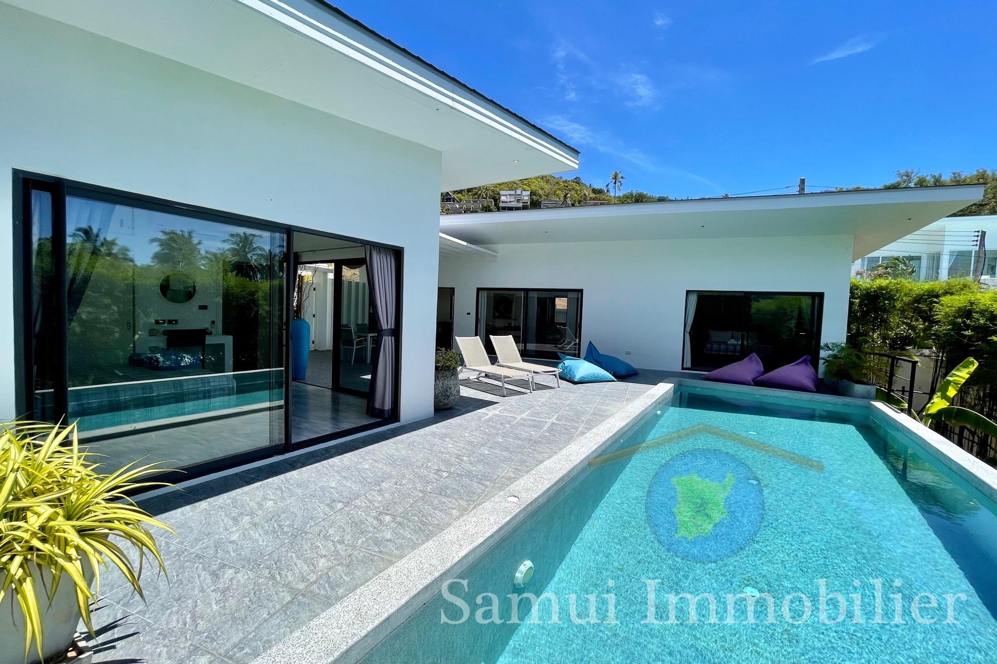 Villa à vendre - 3 chambres - Chaweng Noi
