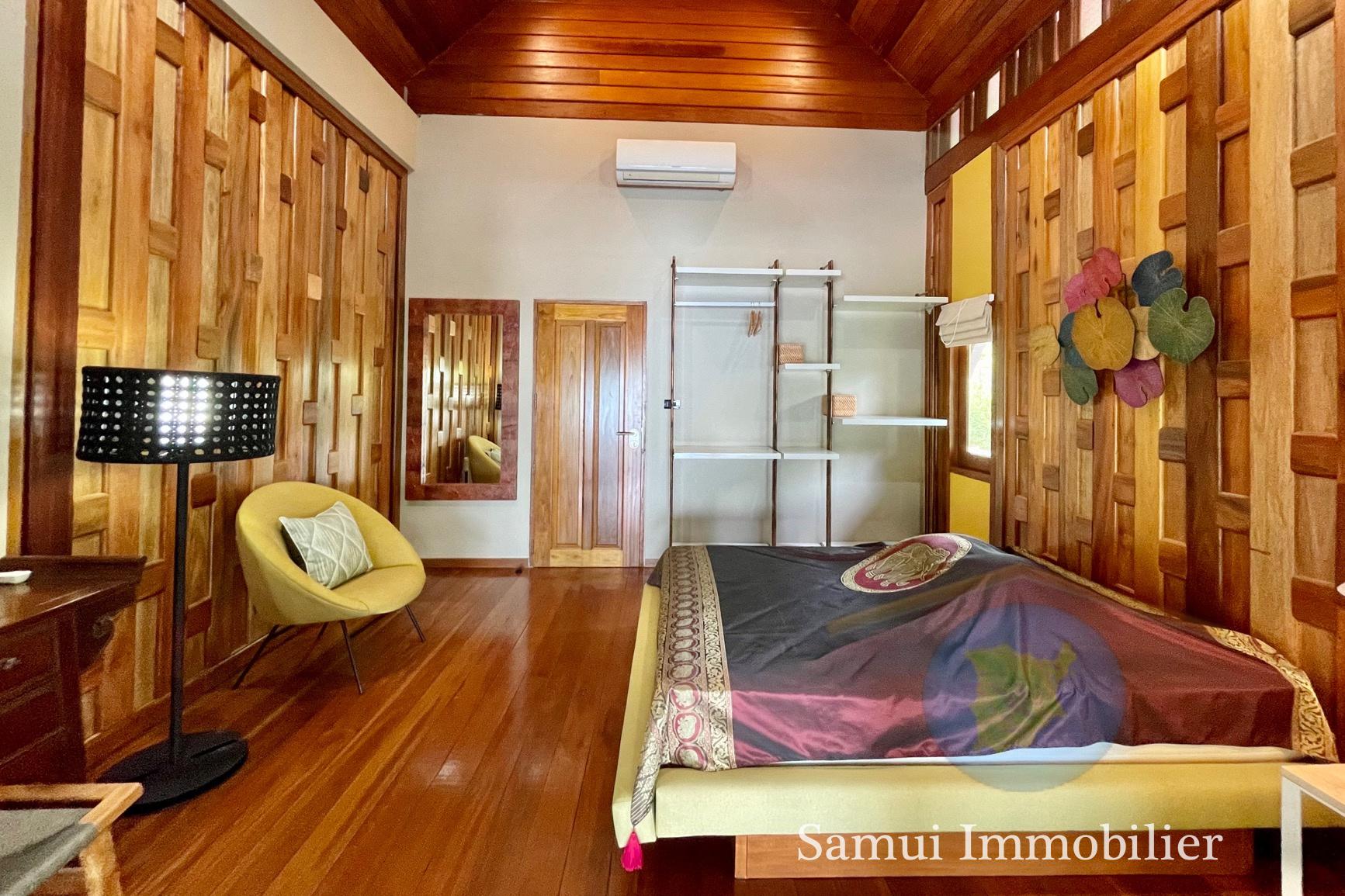 Villa à vendre - 3 chambres - bord de mer - Tong Krut