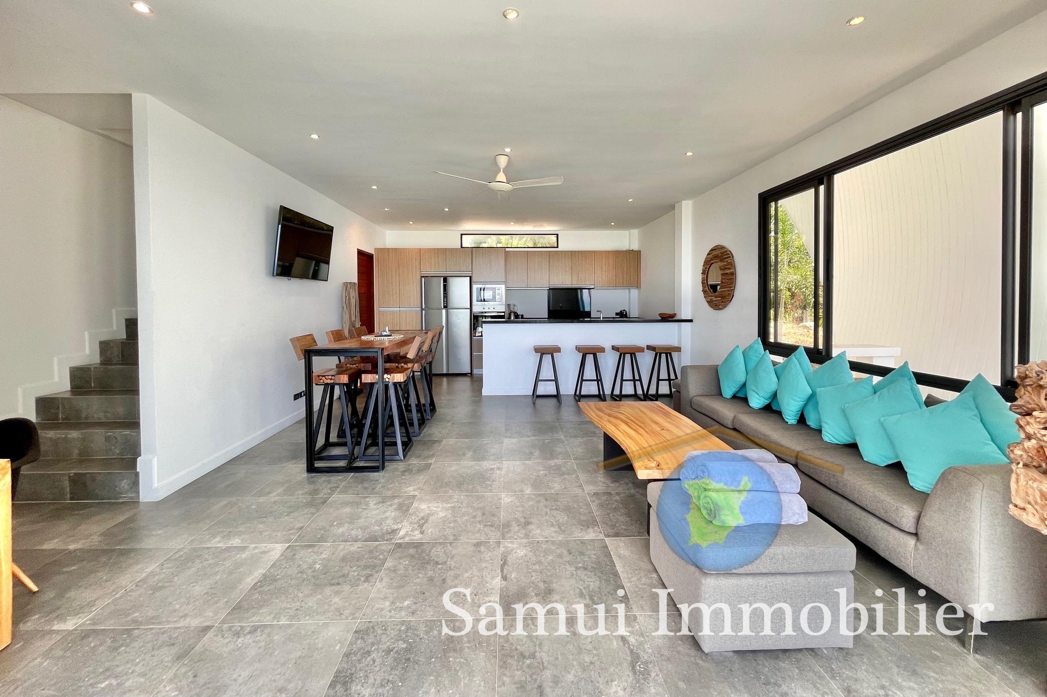 Villa à vendre - 4 chambres - vue sur mer - Chaweng Noi