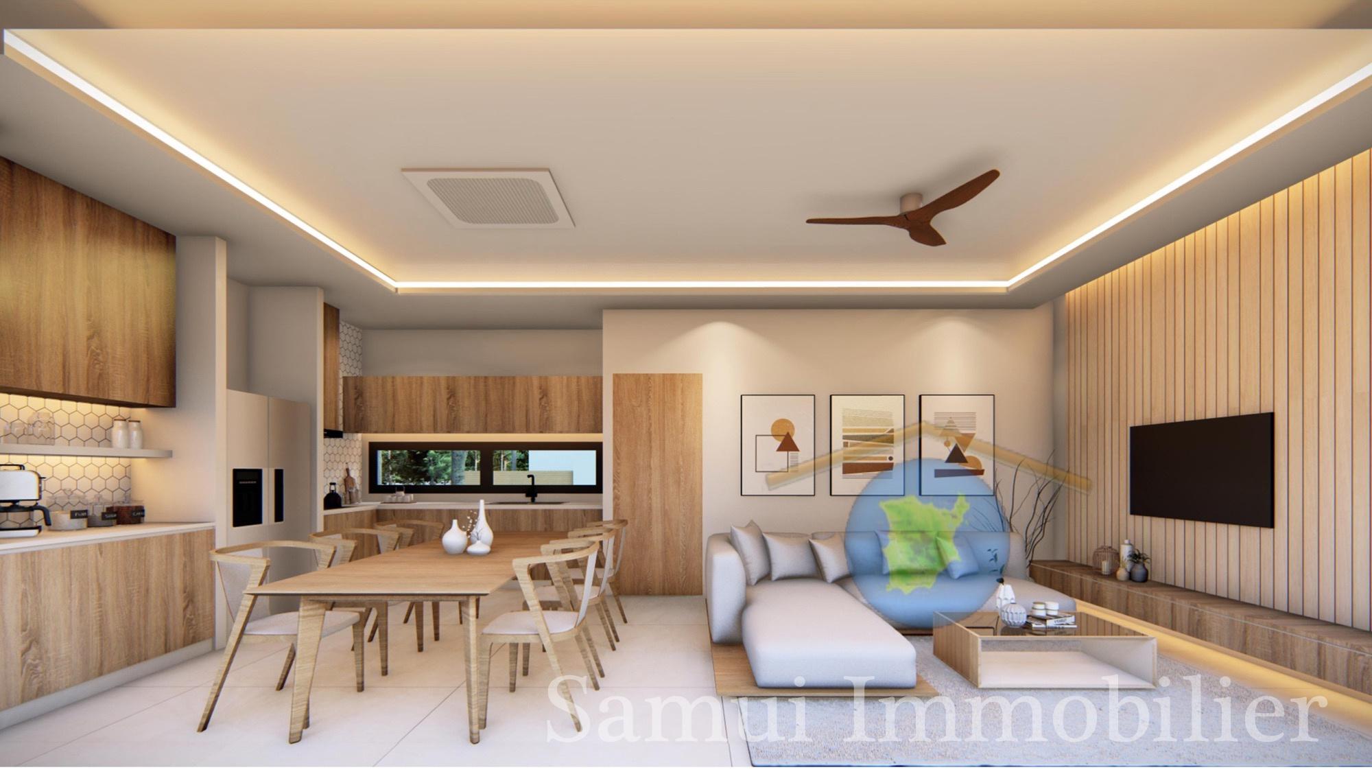 Villas à vendre - 2 ou 3 chambres - Bophut