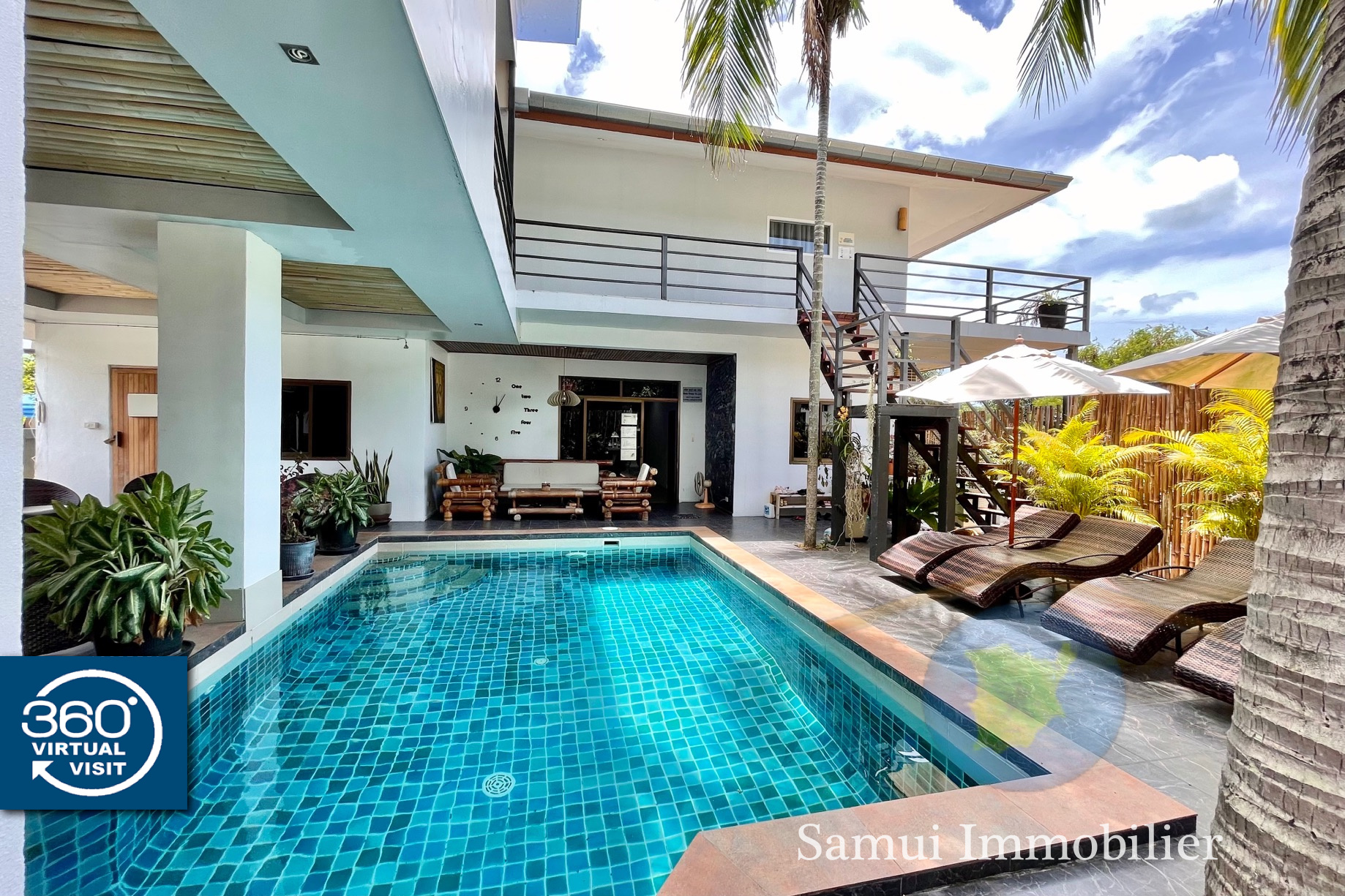 Guesthouse for sale - 11 bedrooms - Chaweng