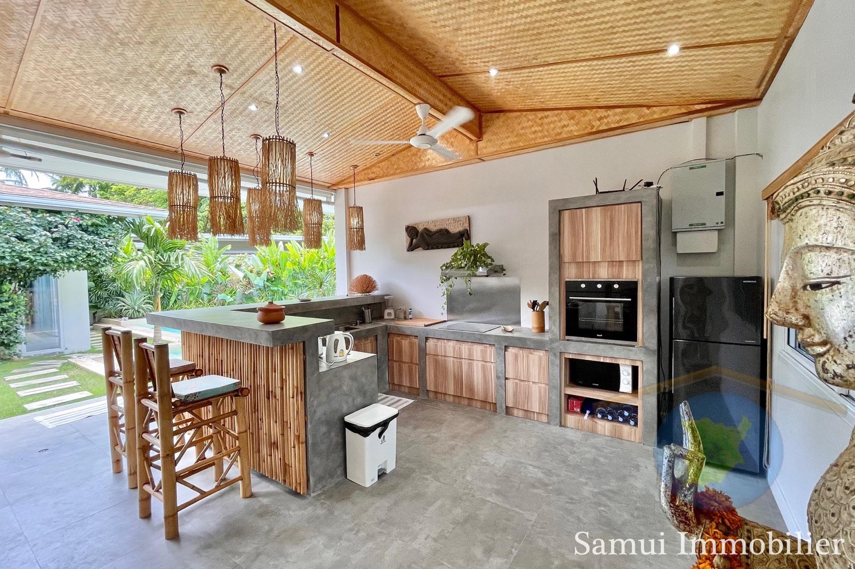 Villa à vendre - 3 chambres - Lamai